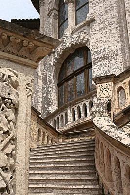 Stone Buildings Mixed Media - Stone Buildings In Majestic Monaco by Greg Sharpe