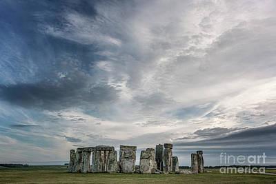 Stonehenge Photograph - Stone By Stone by Evelina Kremsdorf