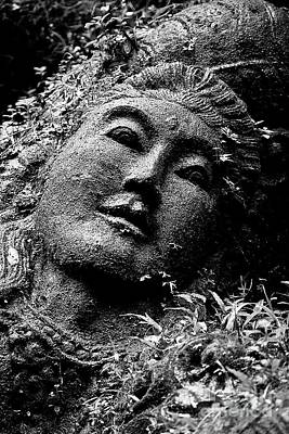 Photograph - Stone Carving On The Ayung River by Craig Lovell