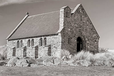 Photograph - Stone Church by Nicholas Blackwell