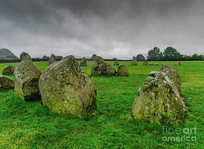 Photograph - Stone Circle by Elvis Vaughn