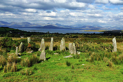 Photograph - Stone Circle In Ireland by Bill Jordan