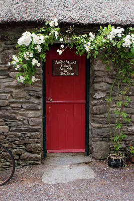 Photograph - Stone Cottage, Ireland  by Aidan Moran