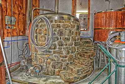Photograph - Stone Cow Brewery by Mike Martin