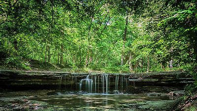 Photograph - Stone Creek Falls by Susan Rissi Tregoning
