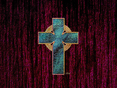 Religious Art Digital Art - Celtic Cross by Gordon Beck
