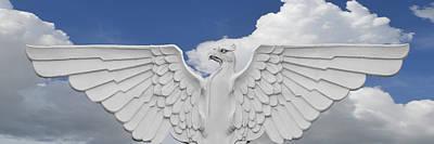 Photograph - Stone Eagle by rd Erickson