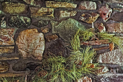 Photograph - Stone Face by Bob Hislop