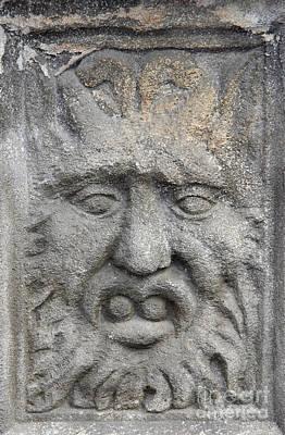 Stone Face Art Print by Michal Boubin