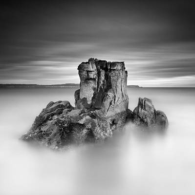 Ballycastle Photograph - Stone Face by Pawel Klarecki