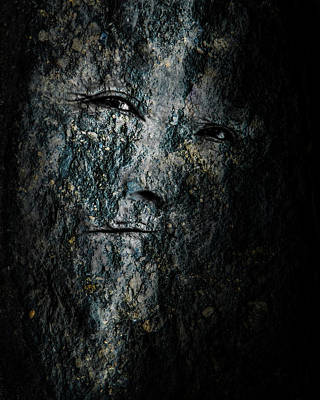 Photograph - Stone Faced by Michael Arend