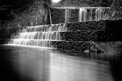Photograph - Stone Falls by Alan Raasch