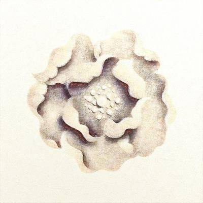 Mixed Media - Stone Flower by Anton Kalinichev
