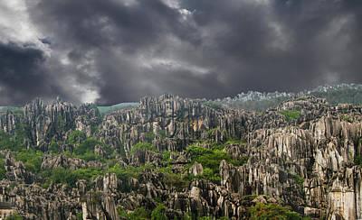 Photograph - Stone Forest 3 by Robert Hebert