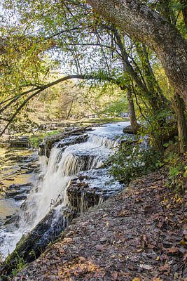 Photograph - Stone Fort Falls by Ricky Dean