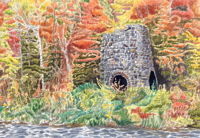 Painting - Stone Furnace by Dominic White