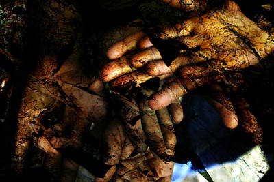 Stone Hands Art Print by Antonio Gomes