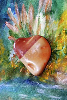 Photograph - Stone Heart by Augusta Stylianou