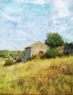 Photograph - Provence Countryside by Catherine Alfidi