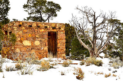 Mauverneen Blevins Photograph - Stone House by Mauverneen Blevins
