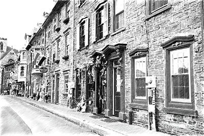 Photograph - Stone House Row by Nicki McManus