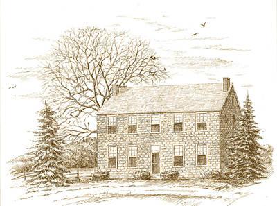 Stone House Art Print