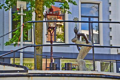 Tourist Attraction Digital Art - Stone Minx. Die-hard. Amsterdam. by Andy Za