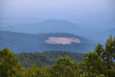 Photograph - Stone Mountain From The Parkway by Kathryn Meyer