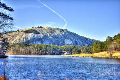 Stonewall Jackson Photograph - Stone Mountain Park Summit by Reid Callaway