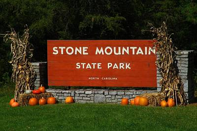 Photograph - Stone Mountain State Park by Kathryn Meyer