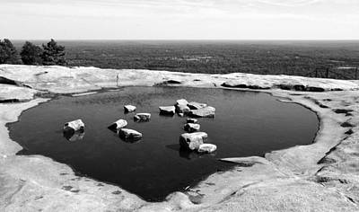 Photograph - Stone Mountain Top by David Lee Thompson