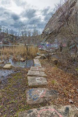 Photograph - Stone Path Through The Quarries by Brian MacLean
