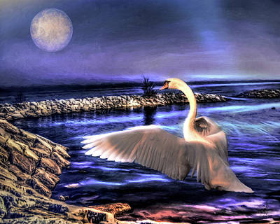 Digital Art - Stone Pier Of Avalon by Pennie McCracken