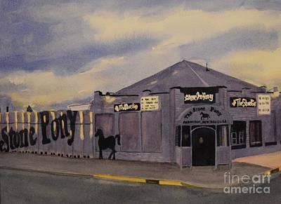 Stone Pony Painting - Stone Pony by Katerina Yager