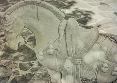 Stone Power Art Print by Dressage Design