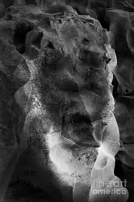 Photograph - Stone Santa by Kiran Joshi