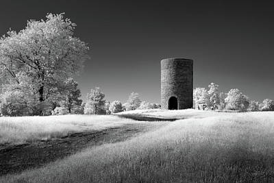 Photograph - Stone Silo by James Barber