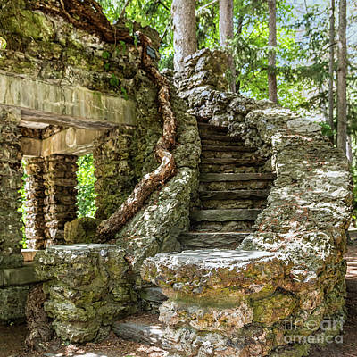 Photograph - Stone Stairway by Joann Long