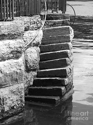 Photograph - Stone Stairway Photograph by Kristen Fox