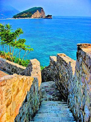 Stone Steps. Original