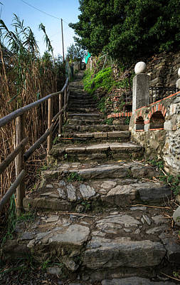 Photograph - Stone Steps by Bob VonDrachek