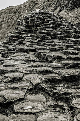 Photograph - Stone Steps Giants Causeway by Lexa Harpell