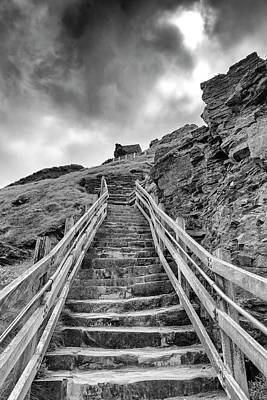 Photograph - Stone Steps by Scott Carruthers