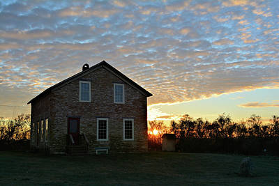 Photograph - Stone Sunrise by Bonfire Photography
