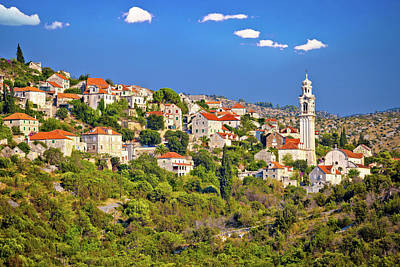 Photograph - Stone Vilage Lozisca On Brac Island View by Brch Photography