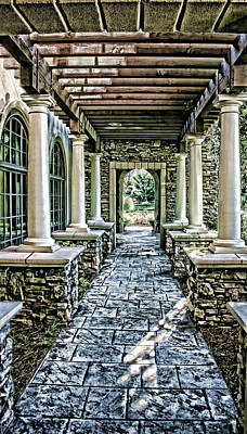 Photograph - Stone Walkway by Cathy Harper