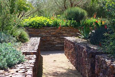 Photograph - Stone Walkway by Kathryn Meyer