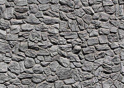 Photograph - Stone Wall 4 by John Cardamone