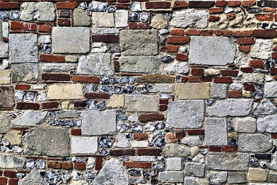 Built Structure Photograph - Stone Wall by Joana Kruse