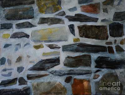 Stone Wall Art Print by Jukka Nopsanen
